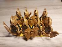 8 Pcs Minifigures Lord of the Rings - Warrior Golodh Elrond Haldir Lego MOC