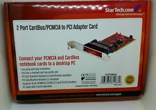 StarTech 2 Port CardBus PCMCIA to PCI Adapter Card PCI2PCMCIA2 StarTech.com