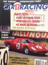 Model Car Racing Magazine Ferrari's Le Mans 275LM Sept/October 2004 013118nonrh