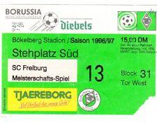 Ticket - Borussia Monchengladbach v SC Freiburg 1996/7