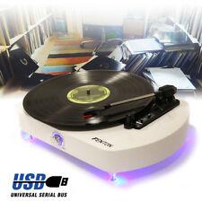 Fenton RP125 3 Speed Retro Vinyl LP Record Player Turntable 33 1/3 45 78 RPM