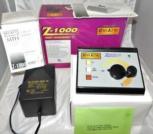 MTH Z-1000 Transformer & Power Supply boxed Rail King AC 100 watts 40-1000 C8