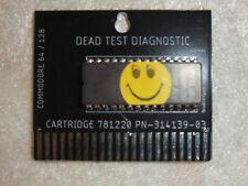 Commodore 64 Dead Test Diagnostic Cartridge rev 781220
