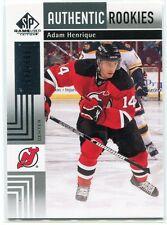 2011-12 SP Game Used 167 Adam Henrique Rookie 583/699