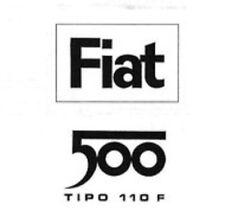 CD CATALOGO PARTI DI RICAMBIO FIAT 500 500L 110F TUTTI GLI ESPLOSI 1965-1971