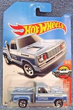 2017 Hot Wheels #131 HW Hot Trucks 9/10 '1978 DODGE LIL RED EXPRESS Blue w/5 Sp