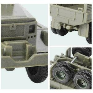 1:72 Highly Restored Military Car Toy Track Armored Personnel H5U1 Re C5P3 D1R5