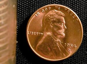 1954-S San Francisco Mint Lincoln Wheat Penny Cent