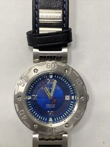ANDROID Men's AD691BBU Intercross Analog Automatic-Self-Wind Silver Watch