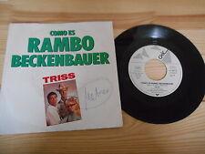 "7"" Pop Triss - Como Es Rambo Beckenbauer TELDEC / CHIC"