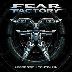 FEAR FACTORY AGGRESSION CONTINUUM CD (Released June 18th 2021)