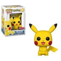 Exclusive Pokémon PIKACHU Funko Pop Vinyl New in Mint Box + Sticker + P/P