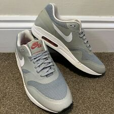 Nike Air Max 1 Fuse Matte Silver Ladies Womens Trainers UK Size 5.5