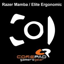 Corepad Skatez Razer Mamba Elite Ergonomic Ersatz Teflon® Mausfüße Mausgleiter