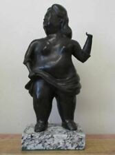 """FERNANDO BOTERO LOST WAX BRONZE SCULPTURE """"WOMAN"""" SIGNED & NUMBERED"""