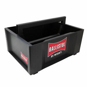 BALLISTOL Tragerl Werkzeugbox Toolbox dunkelgrau mit 2 Fächern stapelbar Germany