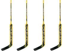 New 4 pack Vaughn 7900 Hockey Goalie stick sticks regular 25 composite gold Sr