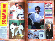 Arts Martiaux Kyoiku Budo n°8 du 7/1994; Pierre Blot/ Sabre et Aikido/ Yahara