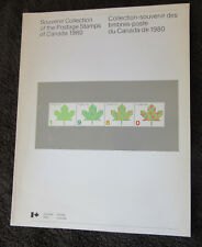 Complete Canada Souvenir Collection Book and Stamps for 1980 No Presentation Box