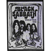 Black Sabbath Band Patch Official Heavy Metal Band Merch