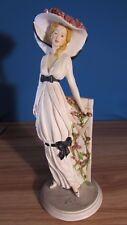 Vintage Italian Lady Figurine  Signed By Vittorio Tessaro