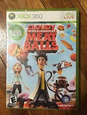 Cloudy With a Chance of Meatballs (Microsoft Xbox 360, 2009) NO Manual