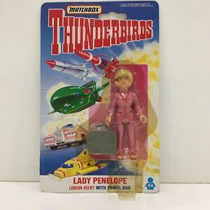 Matchbox Thunderbirds Lady Penelope London Agent With Travel Bag Figure Unopened