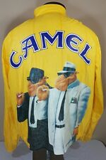 VTG Tyvek Jacket Windbreaker Camel Cigarettes Joe Camel 90's 80's Large 1992