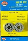 Model Power 2 Conductor Extra Fine Yellow/Brown Hook Up Wire 50' #2299