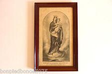 ancienne gravure religieuse réf 176/08