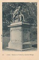 PARIS – Statue de Voltaire, Square Monge – France - udb (pre 1908)