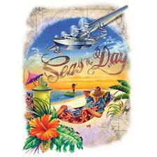 Seas The Day  Sandy Beach    Tshirt   Sizes/Colors