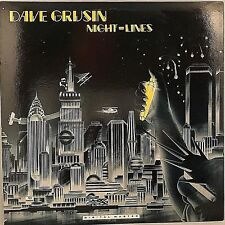 "DAVE GRUSIN  ""Night-Life"" Vinyl LP - 1984 GRP-A-1006 NM / NM"