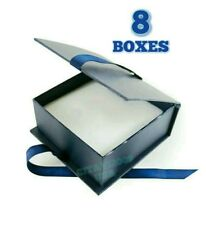 NEW! JEWELRY GIFT BOXES SET OF 8 BOXES RING BRACELET NECKLES BOX DISPLAY STORAGE