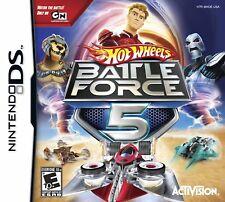 Hot Wheels Battle Force 5 DS