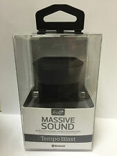 Genuine iFrogz Massive Sound TempoBlast, Wireless Bluetooth Speaker - Black