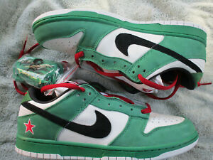 Nike Dunk Low Heineken 10.5 NIB w/Receipt