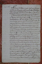 Testament 1810 Demartinécourt Selongey Côte d'Or Gauvain Marey sur Tille
