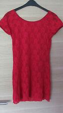 sexy Dessous / Negligé / Minikleid in rot L / XL 44 / 46 / 48 - NEU & UNGETRAGEN