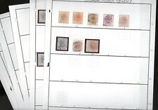 Orange River Colony, Excellent assortment of Stamps hinged/mounted on pages