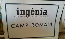Ingenia Paper Model Camp Romain