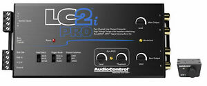AudioControl LC2i PRO Two Channel Converter with ACR-1 Bass Remote Audio Control