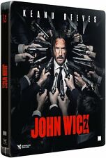 *Dent* John Wick: Chapter 2 (Limited Edition Steelbook) BLU-RAY NEW *