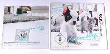 "NINTENDO 3DS SPIEL "" NINTENDOGS + CATS Französische Bulldogge "" KOMPLETT"