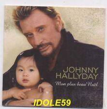 CD de musique noël Johnny Hallyday