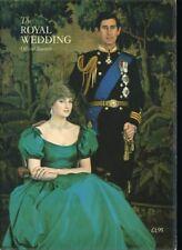 THE ROYAL WEDDING OFFICIAL SOUVENIR PROGRAM