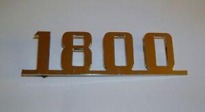 FIAT 1800/ SCRITTA POSTERIORE/ REAR NAMEPLATE