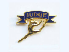 Gymnastics Judge Lapel Pin - Thank Your Competition'S Judge