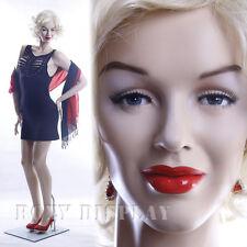Fiberglass Female Display Mannequin Manikin Manequin Dummy Dress Form MZ-MONROE2