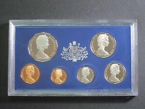 1976 Royal Australian 6 Coin Mint Proof Set Rare Low Mintage Excellent condition